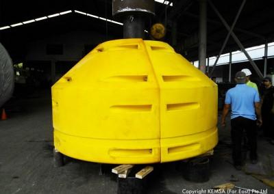 PE modular buoy