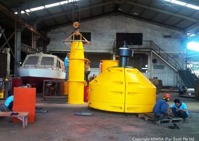 PE navigational buoy