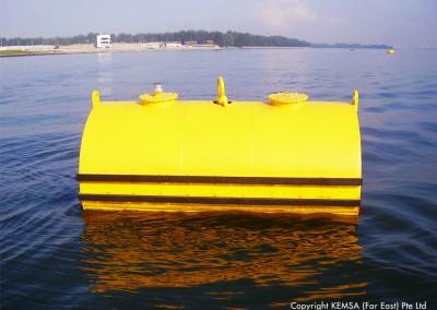 steel mooring buoy